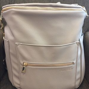 Hardly used Fawn Design diaper bag